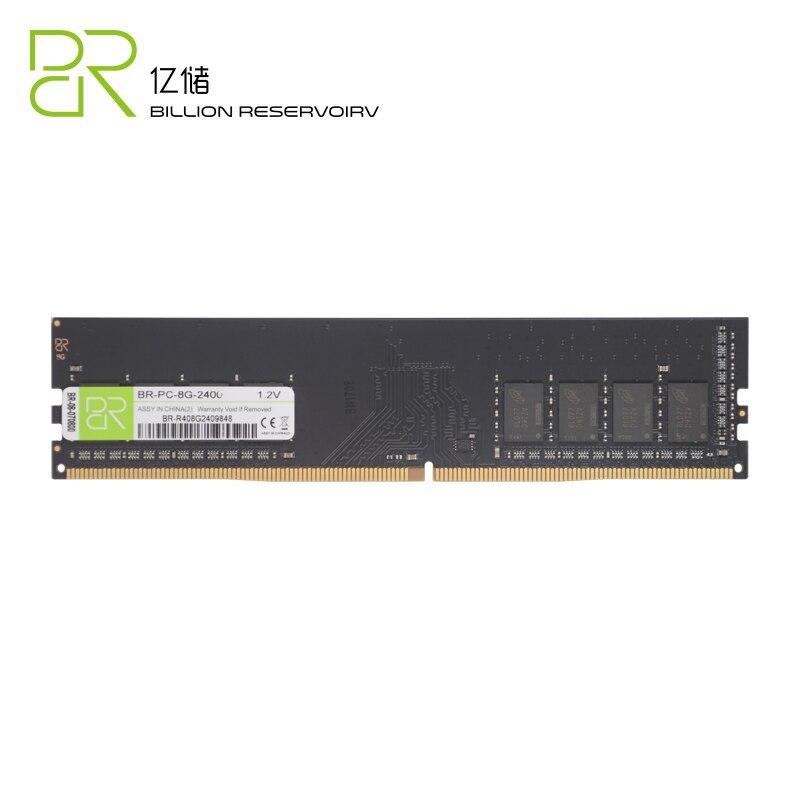 BR Nouvelle UDIMM Memoria DDR4 4 gb BÉLIERS 1.2 v 2400 mhz Pour Intel DDR4 8 gb 16 gb RAM mémoire DIMM 288pin Pour Ordinateur De Bureau Jeu Ram - 5
