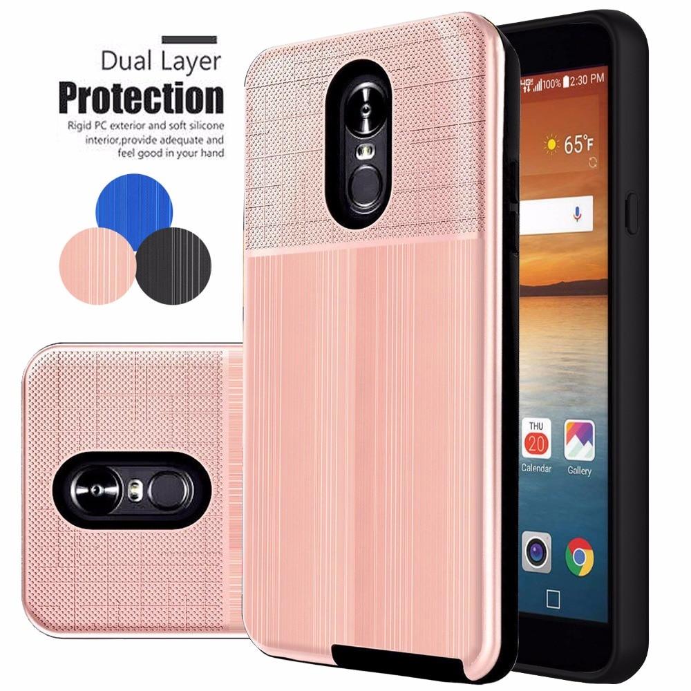 SuaGet Armor Hybrid Phone Case For LG Q7 Plus alpha Stylo