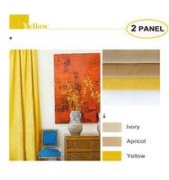 MOMO Room Darkening Matte Velvet Solid Fabric Back Tab Rod Pocket Curtains Window Drapes For Bedroom With Custom Size (2 Panels)