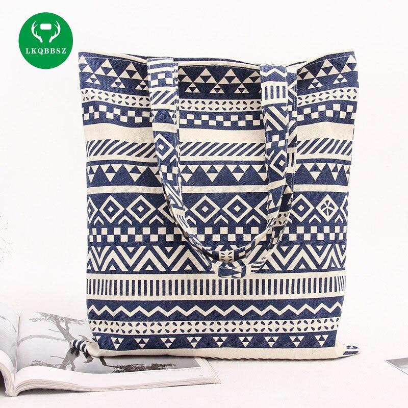 Handmade Pattern Women Storage Bags Handmade Original Fresh Cute Admission Package Tote Storage Bags