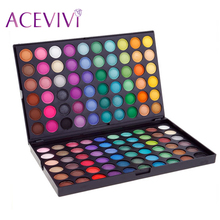 ACEVIVI New Fashion Professional Eyeshadow Palette,Bright and Vivid 120 Colors Matte/Gloss Eye shadow Makeup Palette 31