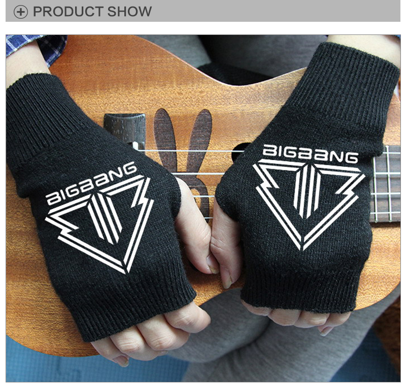 Helpful Kpop Fashion Bts Bangtan Boys Adjustable Black Coat Pink Gloves Mittens Winter Cony Hair Bts K-pop Unisex Gloves High Quality Back To Search Resultsapparel Accessories