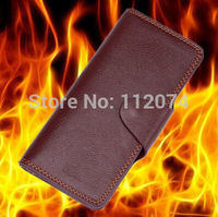 Supreme Fire Wallet Brown Leather Long Magic Trick Wallet Magic Stage Magic