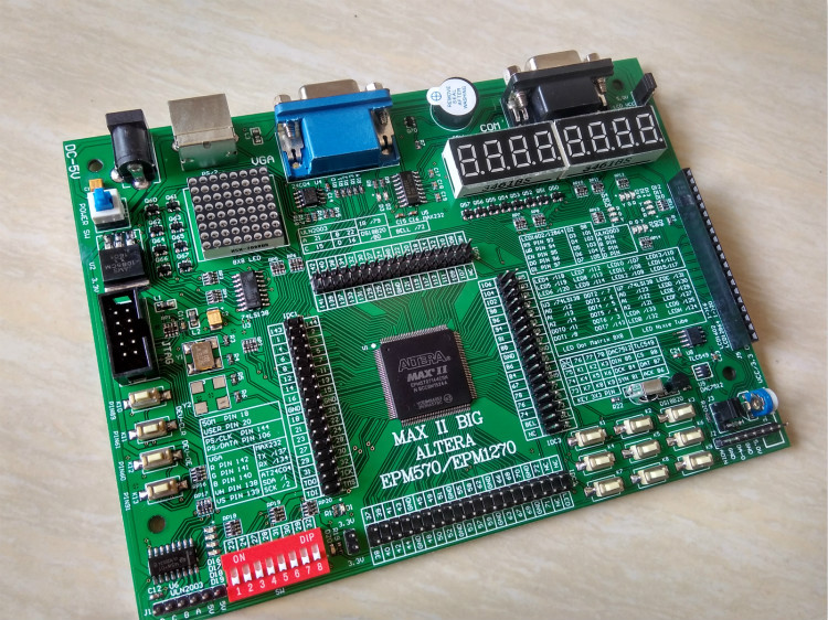 Free shipping ALTERA cpld development board EPM570T144C5N development board
