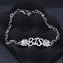 Korea BTS Bracelet  Chain Charm Bracelets For Women Men Jewelry