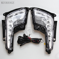 MZORANGE Daytime Running Light For Kia Rio K2 2011 2012 2013 2014 Car Accessories Waterproof ABS