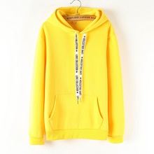 Female Long Sleeve Solid Color Hooded Sweatshirt Hoodie Tracksuit Sweat Coat Casual women Clothes
