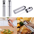 Stainless Olive Mister Oil Spray Pump Fine Bottle Oil Sprayer Pot Cooking Roast Bake Oil Bottle Tools Oil Dispenser