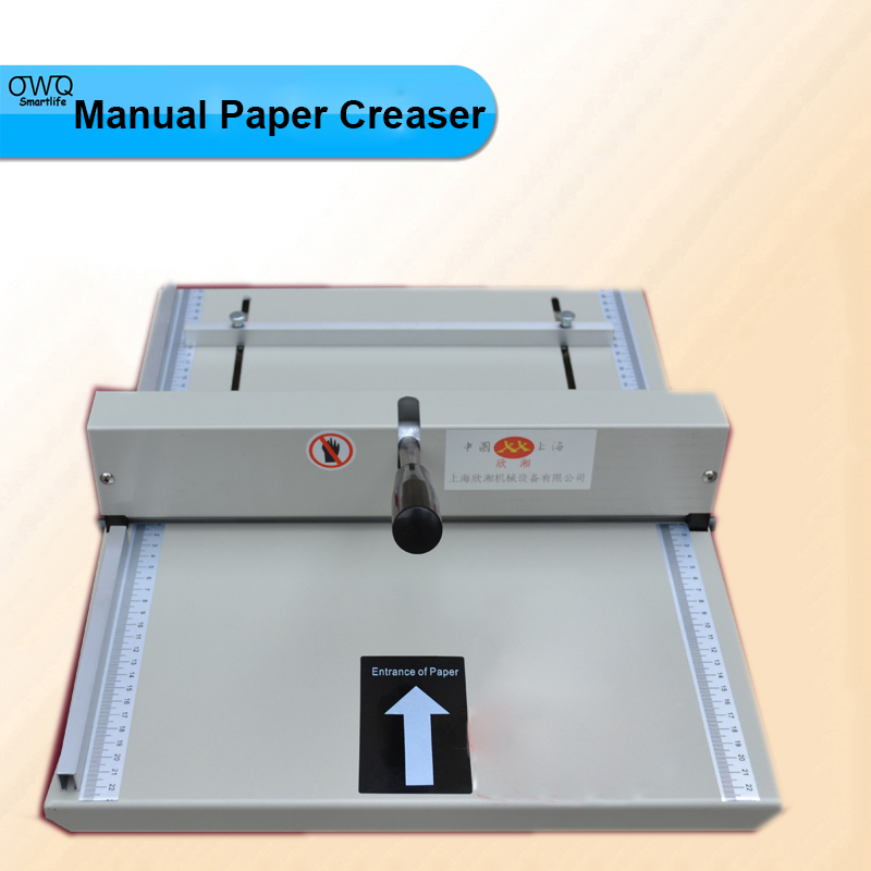 1PC Brand New Manual Paper Creaser Creasing Machine 350mm,A3 A4 Card Covers, High Gloss Covers  3pc brand new manual paper creaser creasing machine 350mm a3 a4 card covers high gloss covers