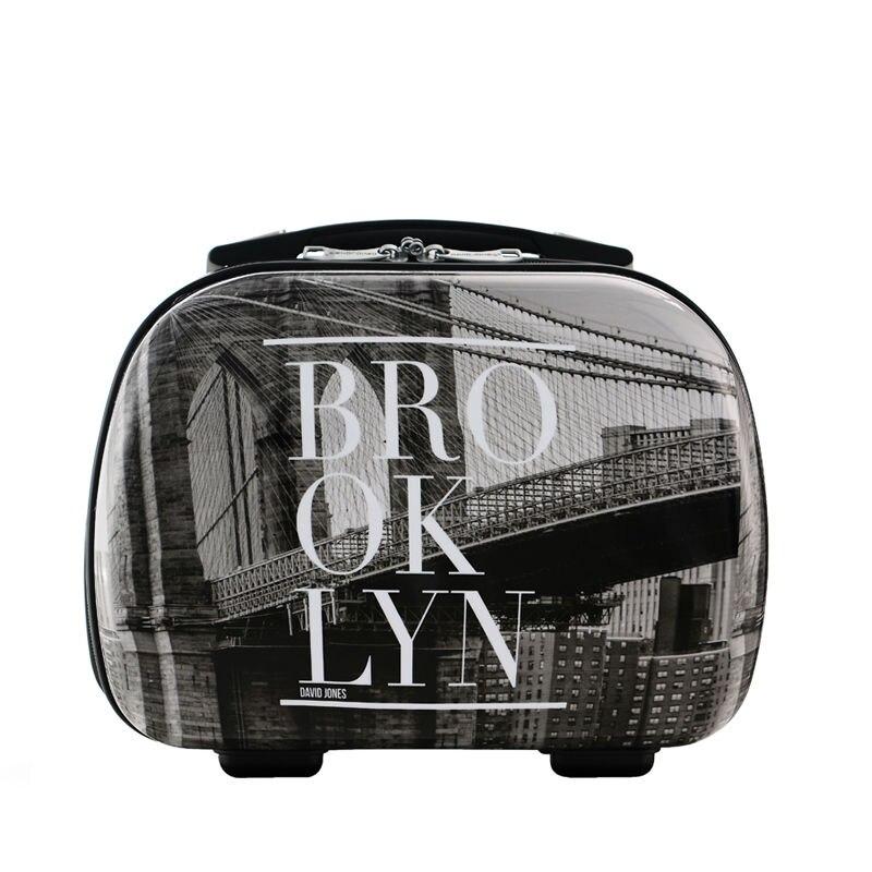 trolly mala mala & cosméticos com Alça Retrátil : Sim