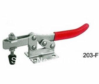 203F Quick Release Holding 227Kg 500 Lbs Nonslip Handle U Bar Flange Base Horizontal Hand Tool Metal Toggle Clamps Clamper Weld цены онлайн