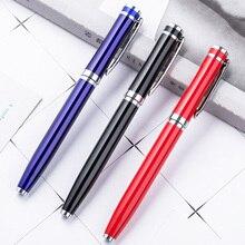 Metal Gel Pen School Office Supply Gift Stationery Exquisite Writing Tool Papelaria Escolar Joy Corner