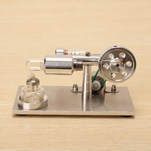 8ab45423b53 Nova Atualização do Modelo Do Motor Stirling de Ar quente Gerador Modelo  Educacional Ciência Toy Presente Para Crianças Miúdo