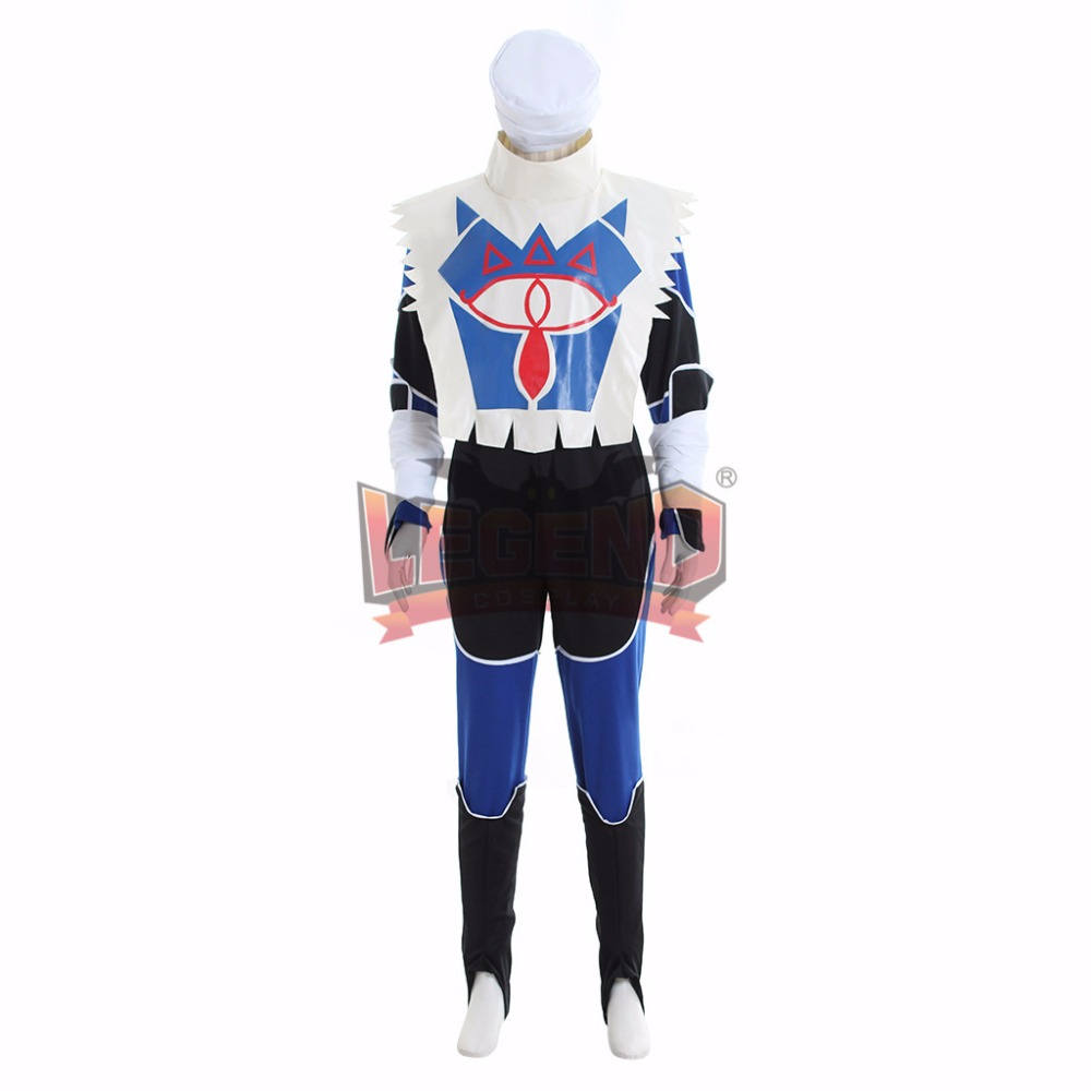 zelda breath of the wild The Legend of Zelda: Breath of the Wild Sheik Cosplay adult costume Custom Made full set