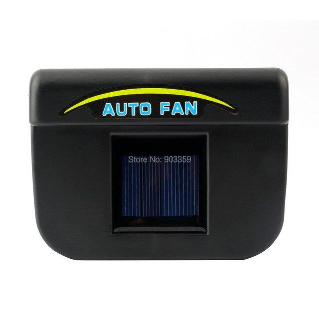 2015 New AUTO Fan Solar Car Fan Cool Power Oxygen Bar car electronics