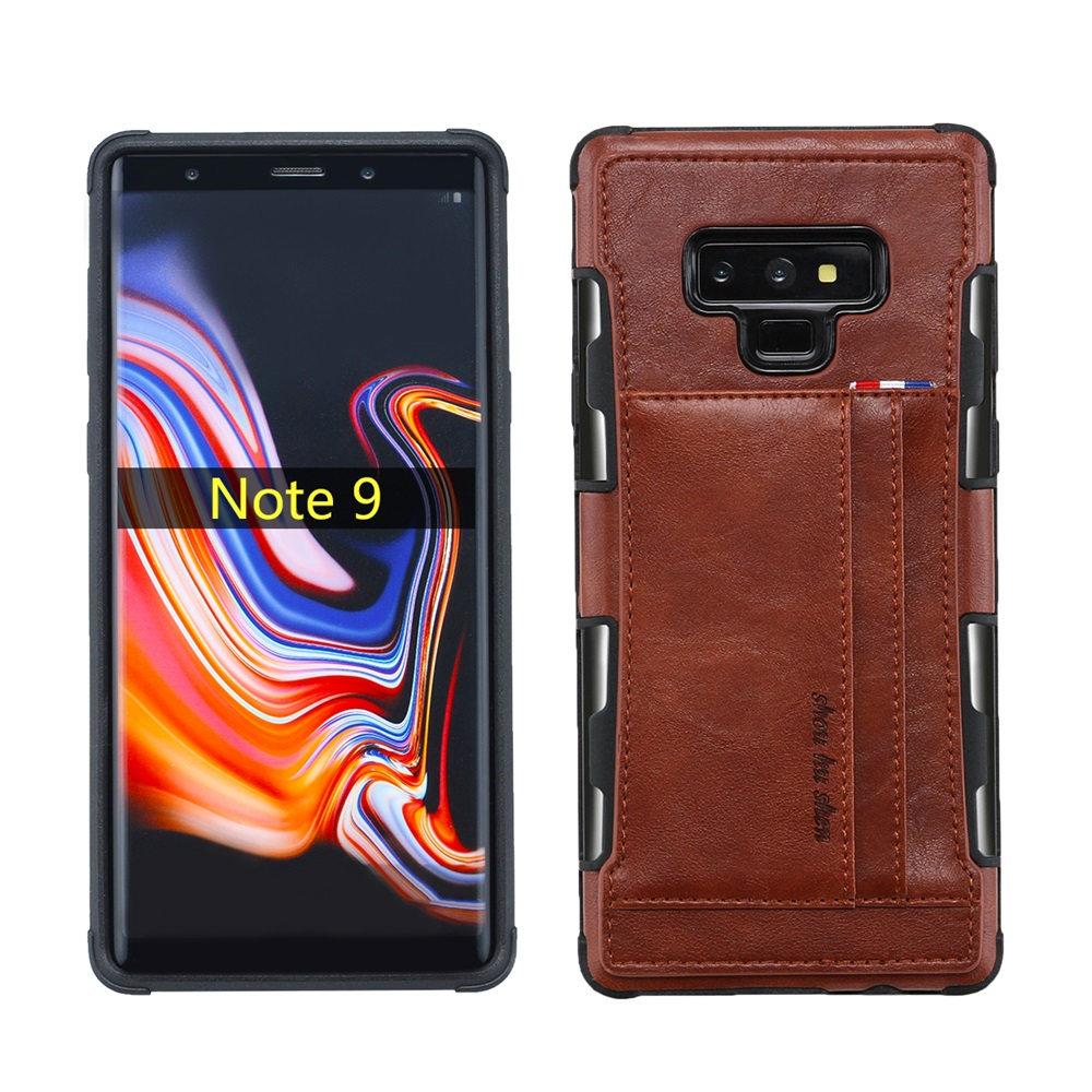 For Samsung Galaxy Note 9 Phone Bag Case Luxury Leather Cover For Samsung note9 Case Wallet Card