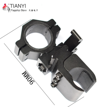 Tactical Quick Detach Weaver Mount Ring Picatinny Weaver 30mm to 20mm Rail Tube Flashlight Rifle Scope Flashlight Mount Holder tactical qd quick detach side rail scope picatinny mount base red green dot sight mount for hunting ak47 ak74 rifle accessory