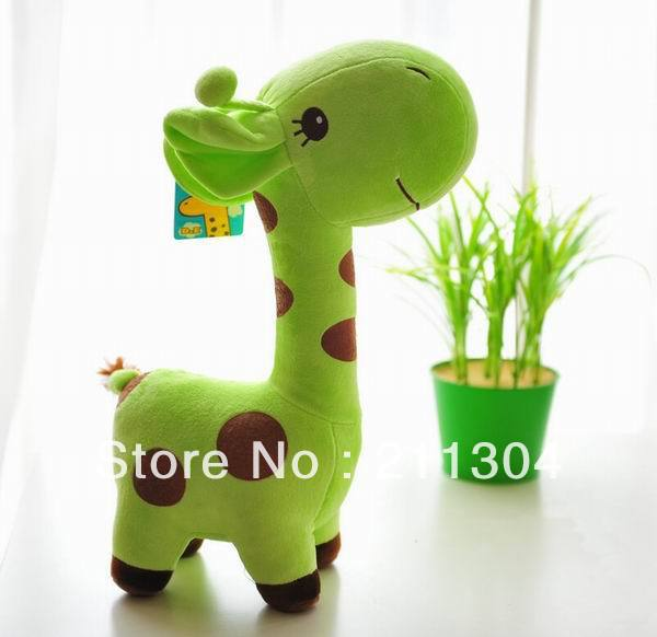 (Large size)Free Shipping Plush Toy giraffe super cute doll stuffed animals 50cm tall soft toys kids friends christmas gifts 30cm mickey mouse and minnie mouse toys soft toy stuffed animals plush toy dolls
