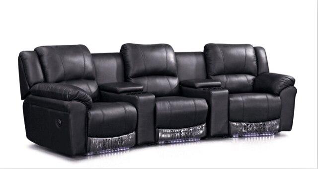 Living Room Sofa Modern Sofa Set Recliner Sofa With Genuine Leather