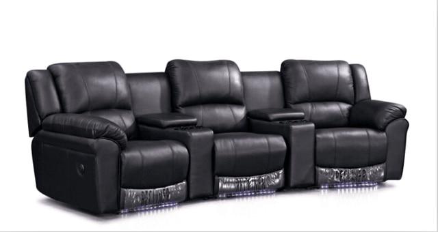 Wohnzimmer Sofa Modernes Set Liege Mit Echtem Leder Ledercouchgarnitur