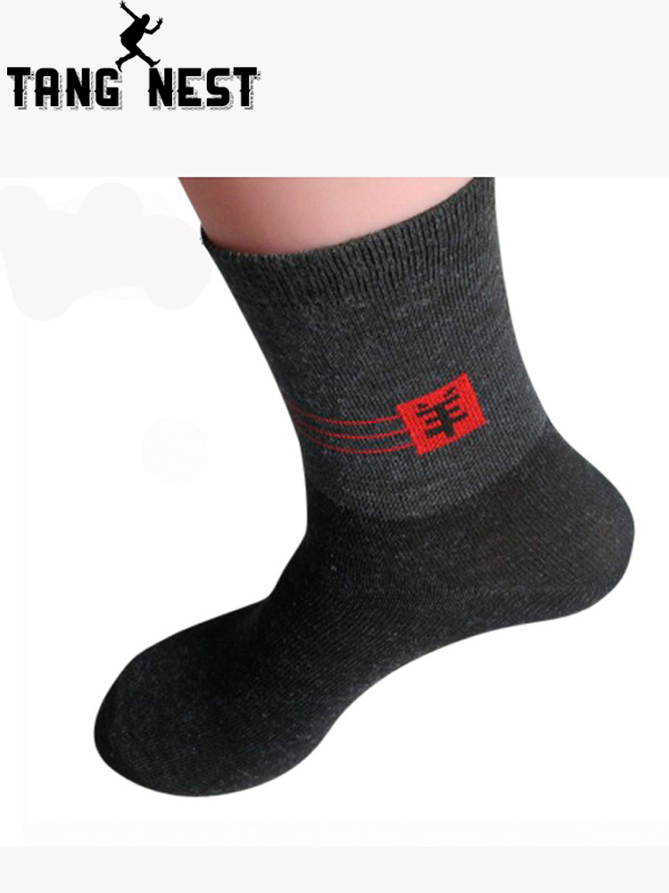 TANGNEST 2019 New Arrival Men Thick Wool Socks Warm Male Socks 10 Pairs/lot Size Suitable For 39-44 Send Randomly NWM122