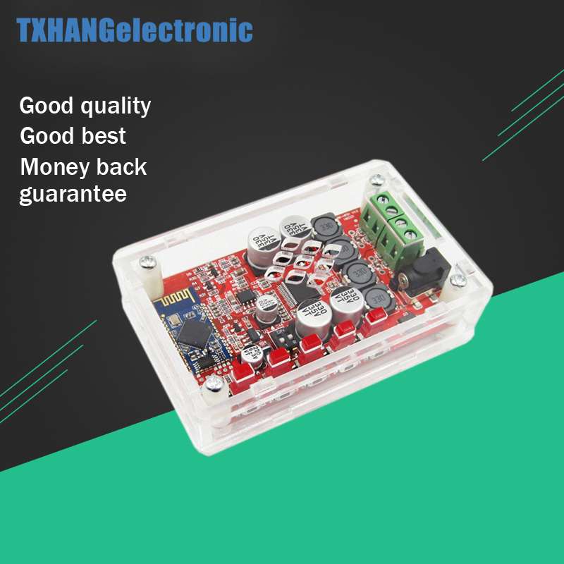 TDA7492P 2X50W Bluetooth 4.0 Audio Receiver Amplifier Module Board + Case RedTDA7492P 2X50W Bluetooth 4.0 Audio Receiver Amplifier Module Board + Case Red