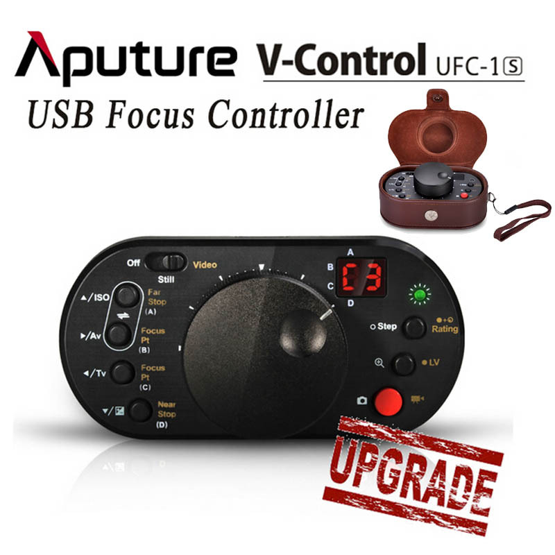 New Aputure V-Control II UFC-1S USB Remote Follow Focus Controller for Canon EOS 5D Mark II III 70D 7D 60D 650D 600D 700D DSLR цифровая фотокамера canon eos 7d mark ii body wi fi adapter 9128b128