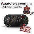 Nueva Aputure Focus II UFC-1S USB remoto Follow Focus controlador para Canon EOS 5D Mark II III 70D 7D 60D 650D 600D 700D DSLR