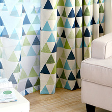 Children Geometric Curtains