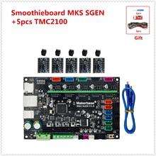 3d принтер плата MKS SGEN Smoothieboard поддержка TMC2208 TMC2100 LV8729 DRV8825 A4988 tb6600 lv8727 Драйвер шагового двигателя