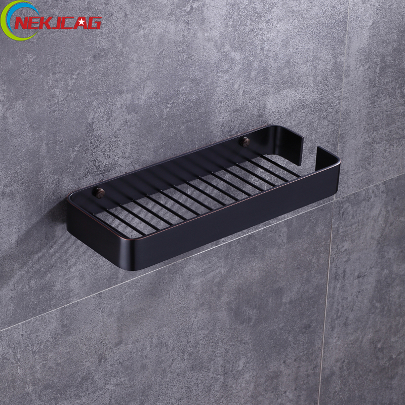 Brass Storage Rack Bathroom Rack Kitchen Rack Wall Mounted Storage Rack use for Shower Gel Skin Care Products Cosmetic couple swan wall mounted rack