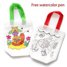 Saizhi DIY Paint Drawing Toy Colored Graffiti Bag Handmade By Children Environmentally Friendly Material SZ3102
