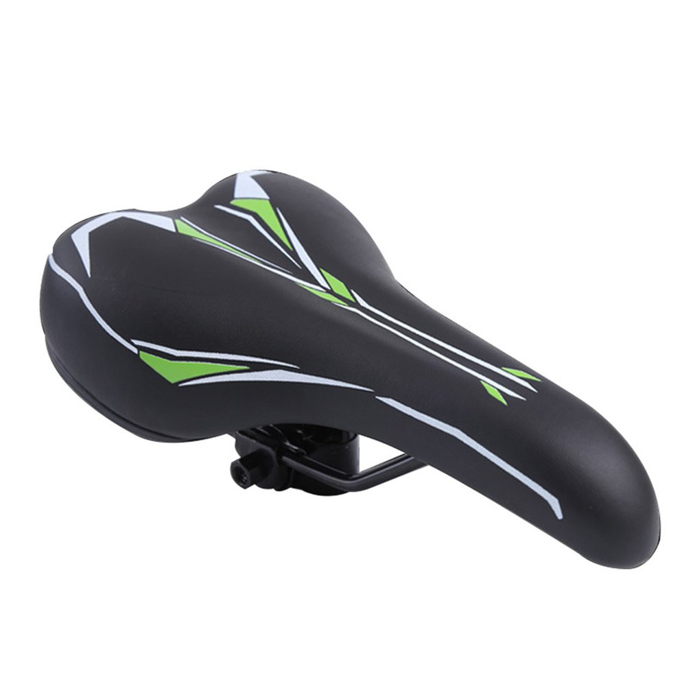 New Ultra Comfort Design Bicycle Saddle Soft Comfortable Wide Large SPRING Seat