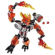 купить Child Fire Protection Bevle BionicleMask of Light XSZ 706-6 Bionicle Building Block is compatible with  70783 toys по цене 438.23 рублей