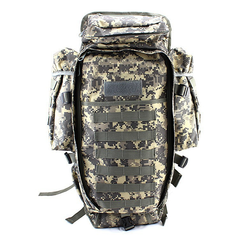 USMC US Army ACU Outdoor Military Tactical Backpack Camping Hiking Rifle Gun Bag Trekking Sport Travel Rucksacks Climbing Bags outlife new style professional military tactical multifunction shovel outdoor camping survival folding spade tool equipment