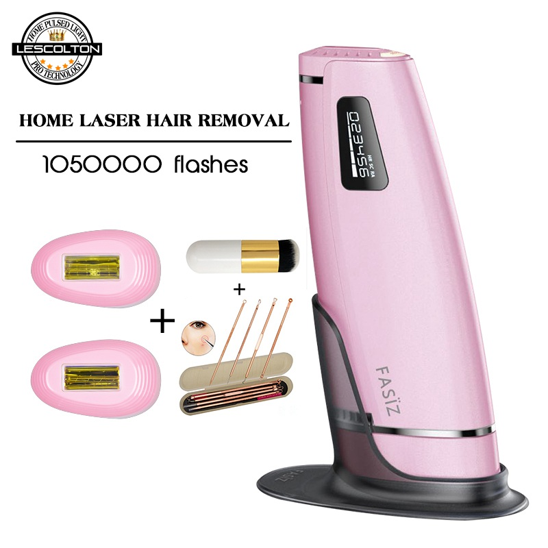 3in1 1050000 pulsed IPL Laser Hair Removal Device Permanent Hair Removal IPL laser Epilator Armpit Hair Removal machine in Epilators from Home Appliances