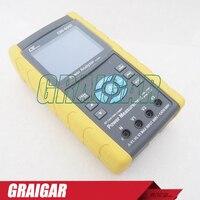 10 600ACV 0 2 1200ACA 1 9 999MW 0 01 1Power Factor 3 Phase Power Analyzer