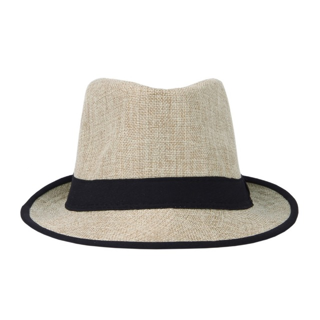 3923f90e912b4 LNPBD Women Mens Unisex Neon Brim Fedora Trilby Gangster Cap Summer Beach  Hat Boho Sun Straw Chapeu De Praia Panama Hat