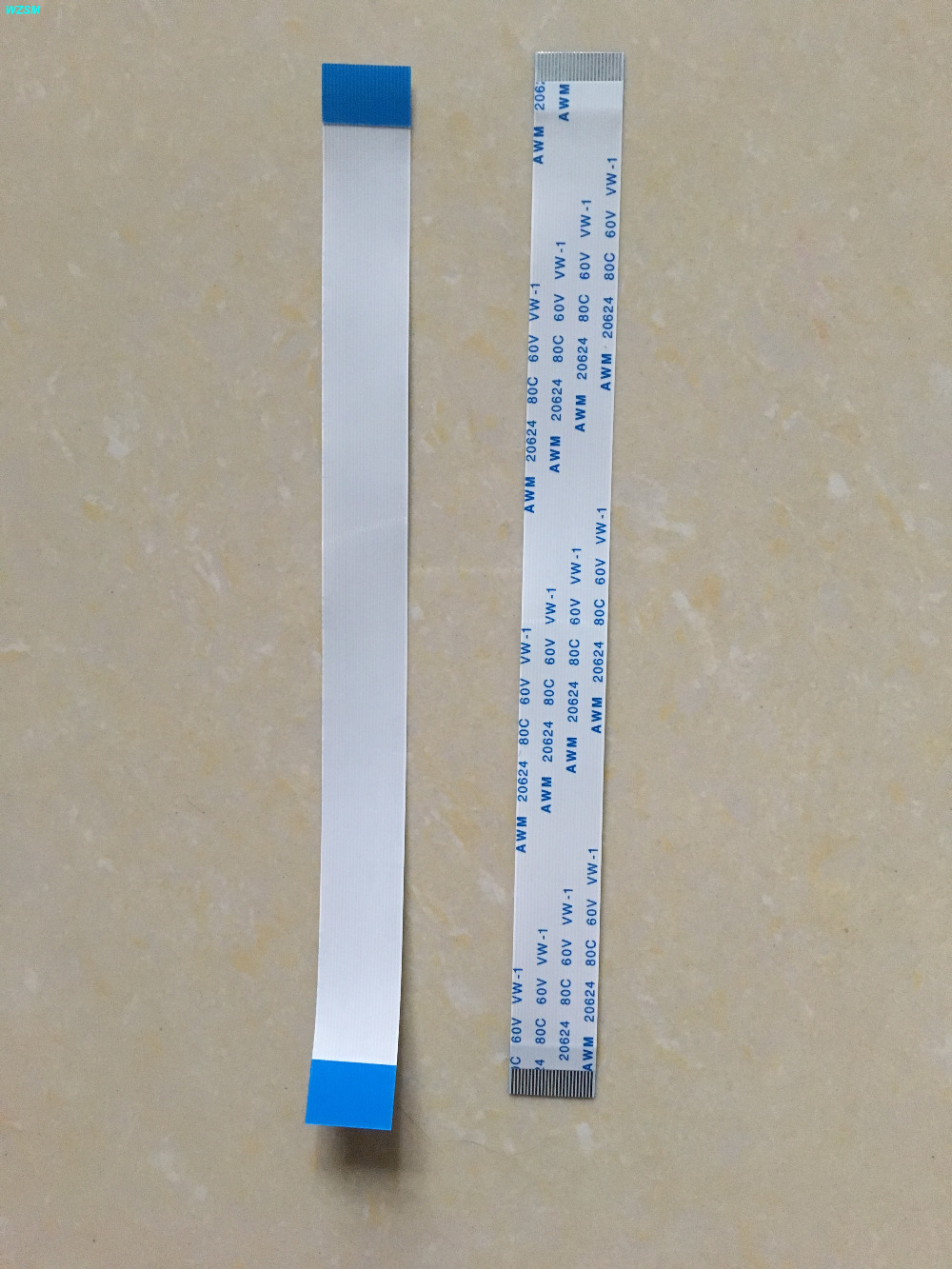 WZSM New AWM 20624 80C 60V FFC FPC Cable 0.5 mm Pitch 24 Pin 25mm 50mm 100mm 140mm 150mm Forward Direction 100pcs reverse ribbon cable awm 20624 80c 60v 1 0 mm 10 pin 200mm 10p 20cm fpc cable