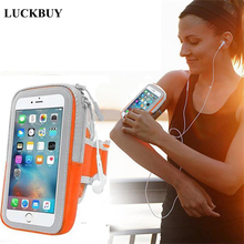 LUCKBUY Armband Waterproof Phone Bags Running Sport Belt Pouch Bag For Iphone X 8 7 6 Plus Redmi Note 4 3 For Samsung S8 S9 Plus rotatable running bag phone arm case waterproof armband sport wrist bag belt key holder pouch for samsung iphone 8 x 4 6 inch