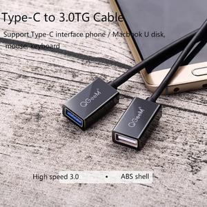 Image 2 - QGeeM USB C OTG Cable Adapter USB 3.0 USB 2.0 OTG type c OTG for samsung galaxy s8 s9 HUAWEI P10 P20 mate 20 pro Macbook USB OTG