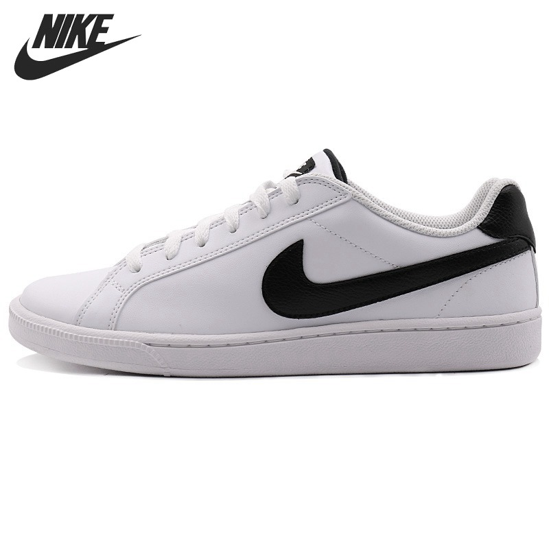 Original New Arrival 2018 NIKE COURT MAJESTIC LEATHER Men's Skateboarding Shoes Sneakers сникеры nike сникеры wmns nike court borough mid