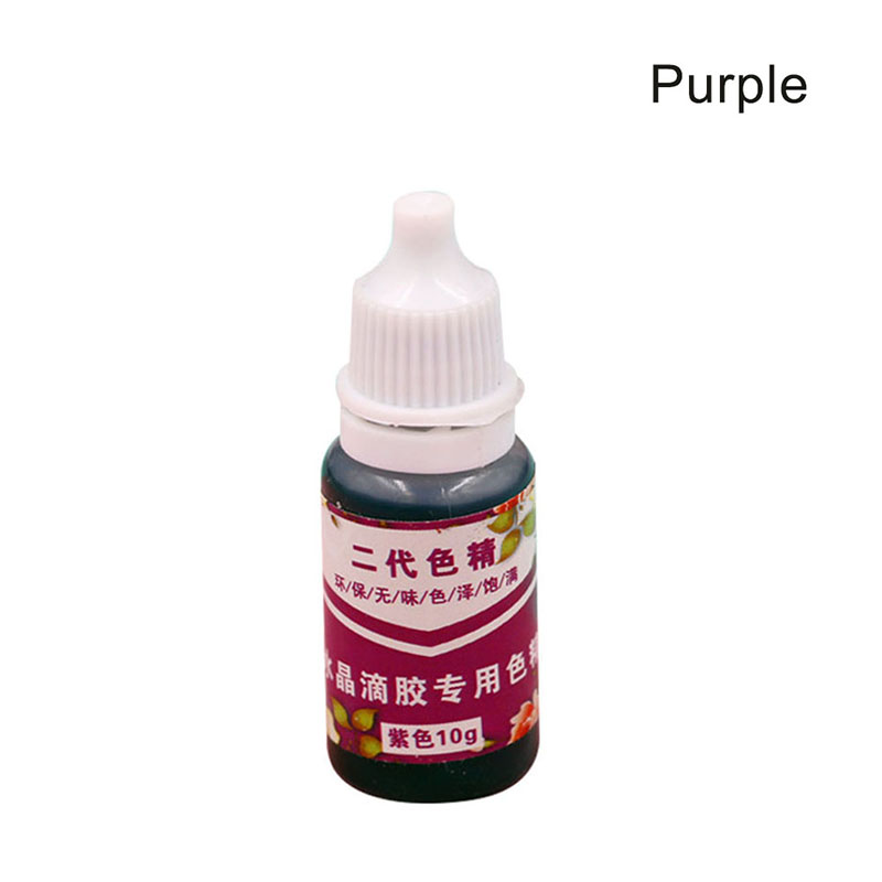 Fashion High Concentration UV Resin Liquid Pearl Color Dye Pigment Epoxy For DIY Jewelry Making Crafts HSJ88