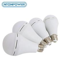 NTONPOWER Otomatik şarj led acil ampul, sihirli ampul olabilir yaktı su veya el güç tükendiğinde kesilir
