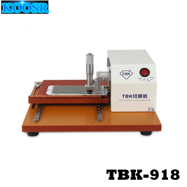 TBK 918 LCD Screen Frame Machine Dismantling Cutting Machine Screen ...