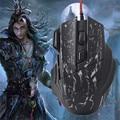 Новейшие Высококачественные Подарки Gaming Mouse 3200 ТОЧЕК/ДЮЙМ LED Оптическая USB Gaming Проводная Мышь Мыши Для Портативных ПК Dropshipping