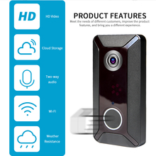 Home Security Cloud WIFI Doorbell Smart IP   Intercom Video Door Phone Door Bell Camera For Apartments IR Alarm Wireless Securit цена