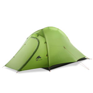 Image 5 - 3F UL ציוד ZhengTu2 Ultralight אוהל 15D ניילון 3 או 4 עונות חיצוני נגד רוח קמפינג אוהל 2 אדם חורף קמפינג אוהל