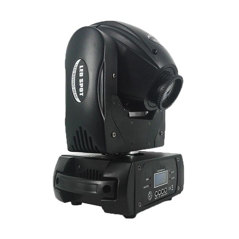 Светодио дный светодиодный гобо 75 Вт освещение Spot 75 Вт DMX контроллер светодио дный Professional светодиодные сценические огни DJ Spot Luces Дискотека п...