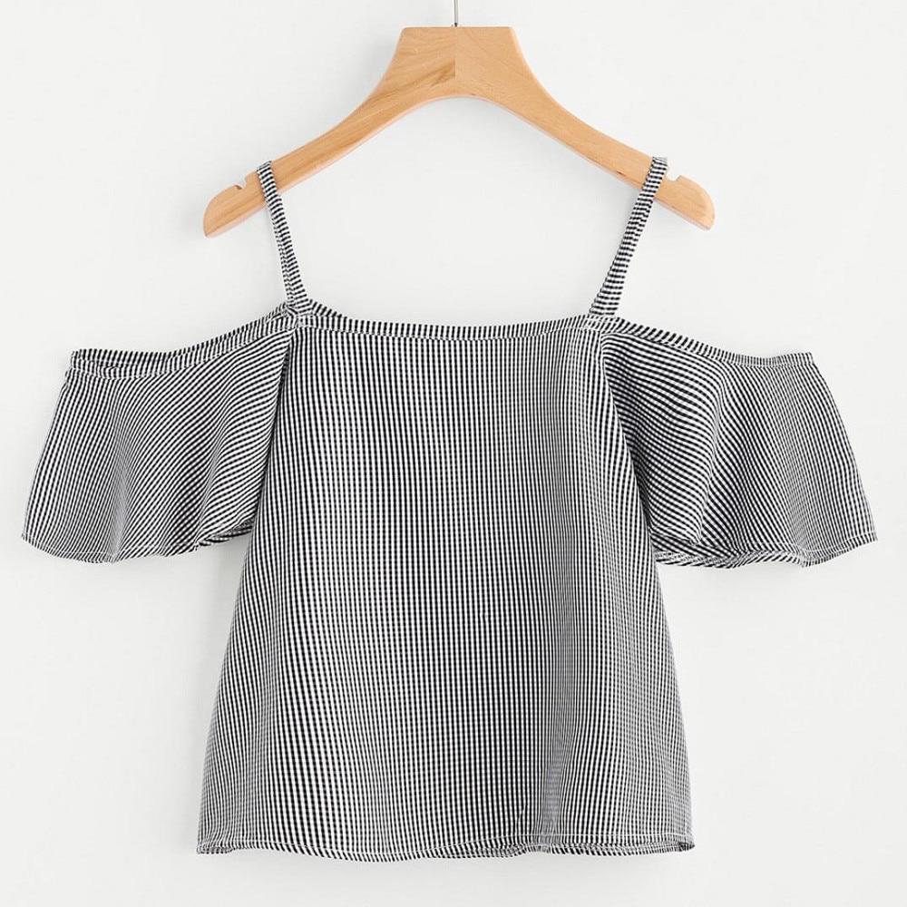 HTB1QNqaSpXXXXaDXFXXq6xXFXXXz - FREE SHIPPING Women Summer Pinstripe Shirt JKP405